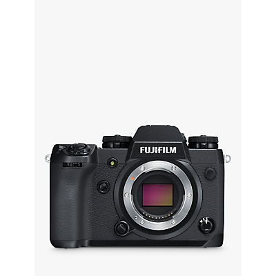 Fujifilm X-H1 Compact System Camera, 4K Ultra HD, 24.3MP, Wi-Fi, Bluetooth, OLED EVF, In-Body Image Stabilisation & 3 Tiltable LCD Touch Screen, Body Only, Black