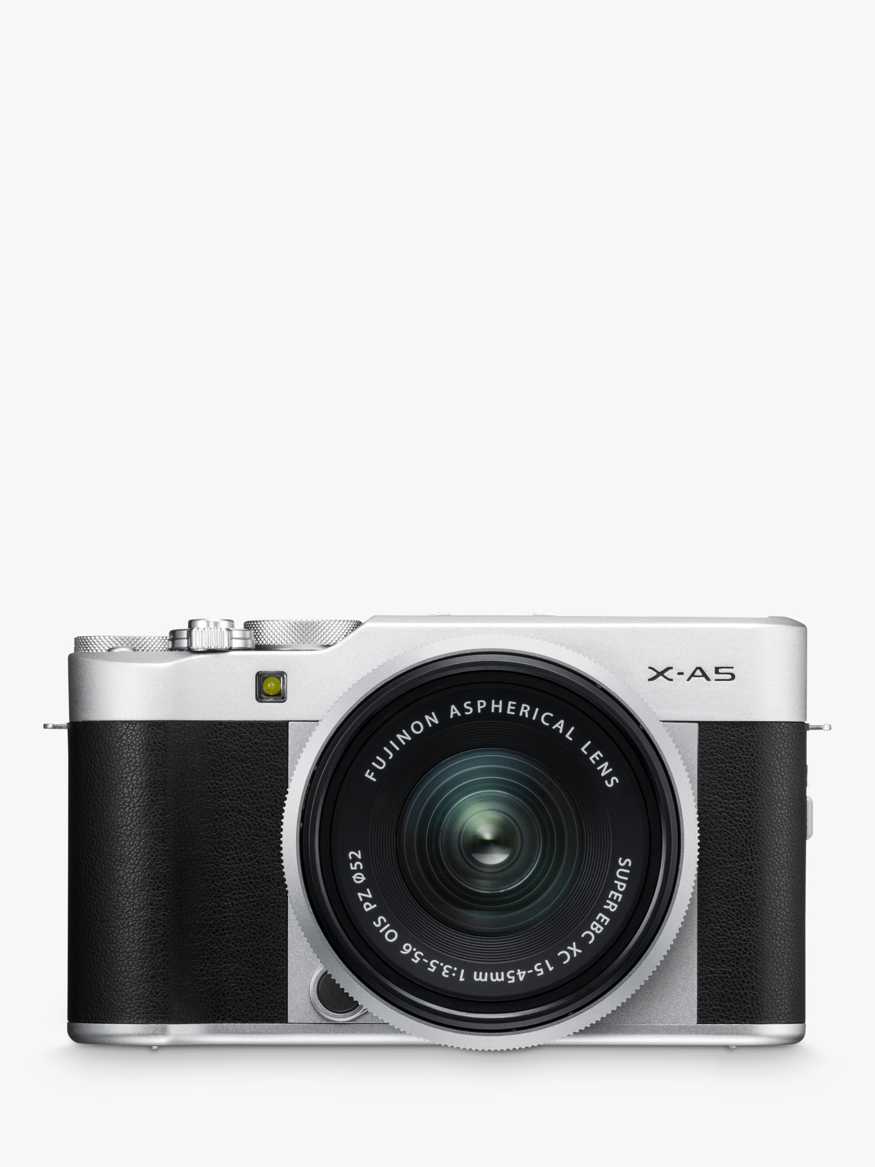 "Fujifilm Fujifilm X-A5 Compact System Camera with XC 15-45mm OIS Lens, 4K Ultra HD, 24.2MP, Wi-Fi, Bluetooth, 3"" Tiltable LCD Touch Screen"