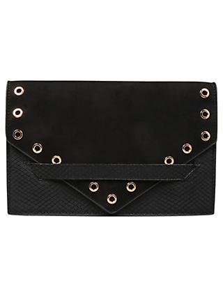Carvela Aron Eyelet Clutch Bag
