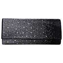 Buy Carvela Gretal Jewel Embellished Clutch Bag, Black Online at johnlewis.com