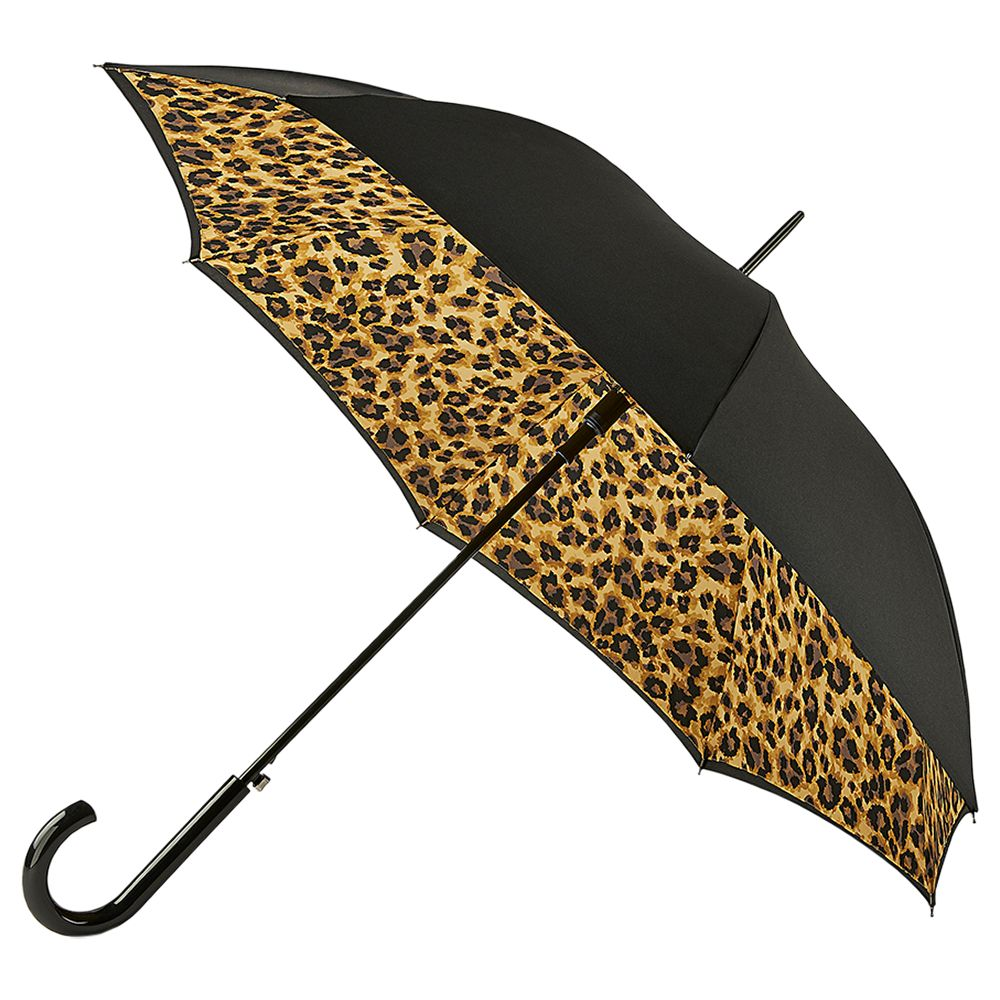 Fulton Fulton Lynx Bloomsbury Walking Umbrella, Black/Multi