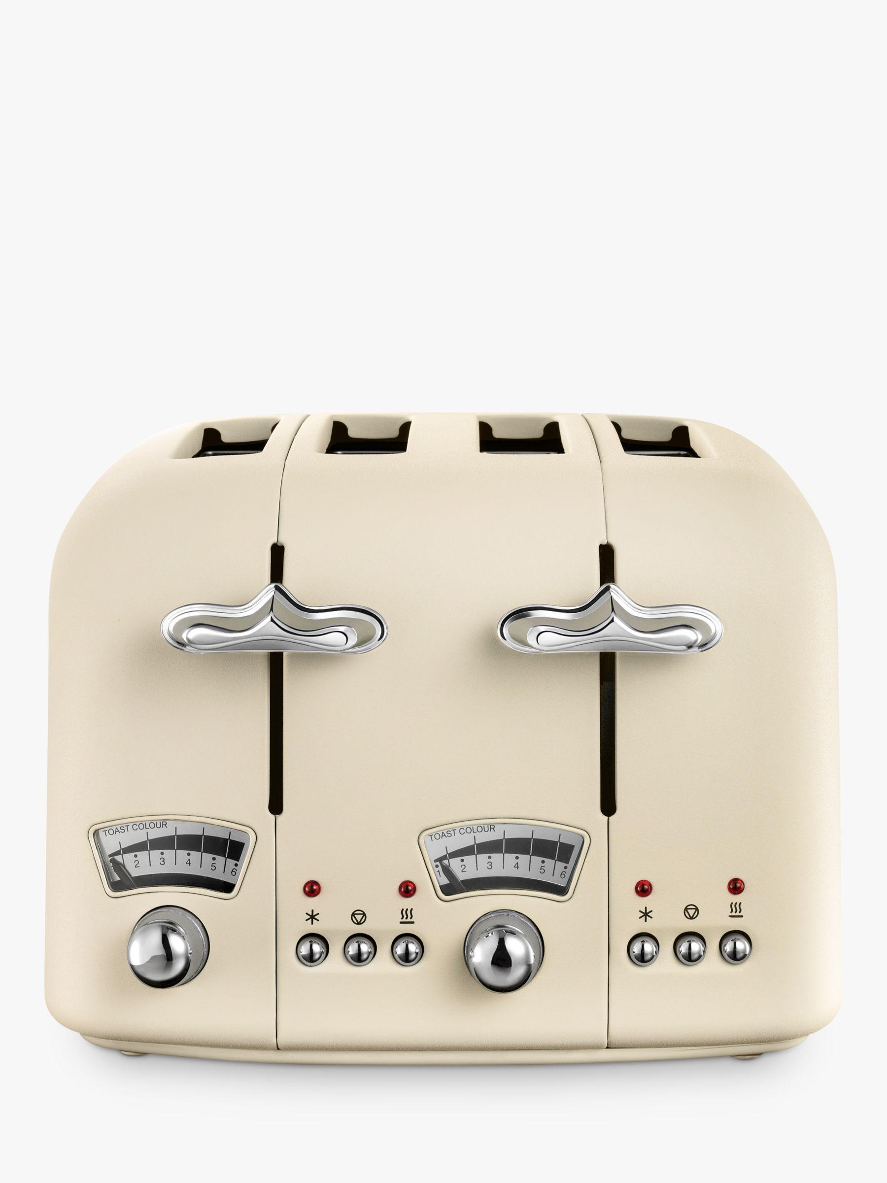 Delonghi De'Longhi Argento Flora 4-Slice Toaster