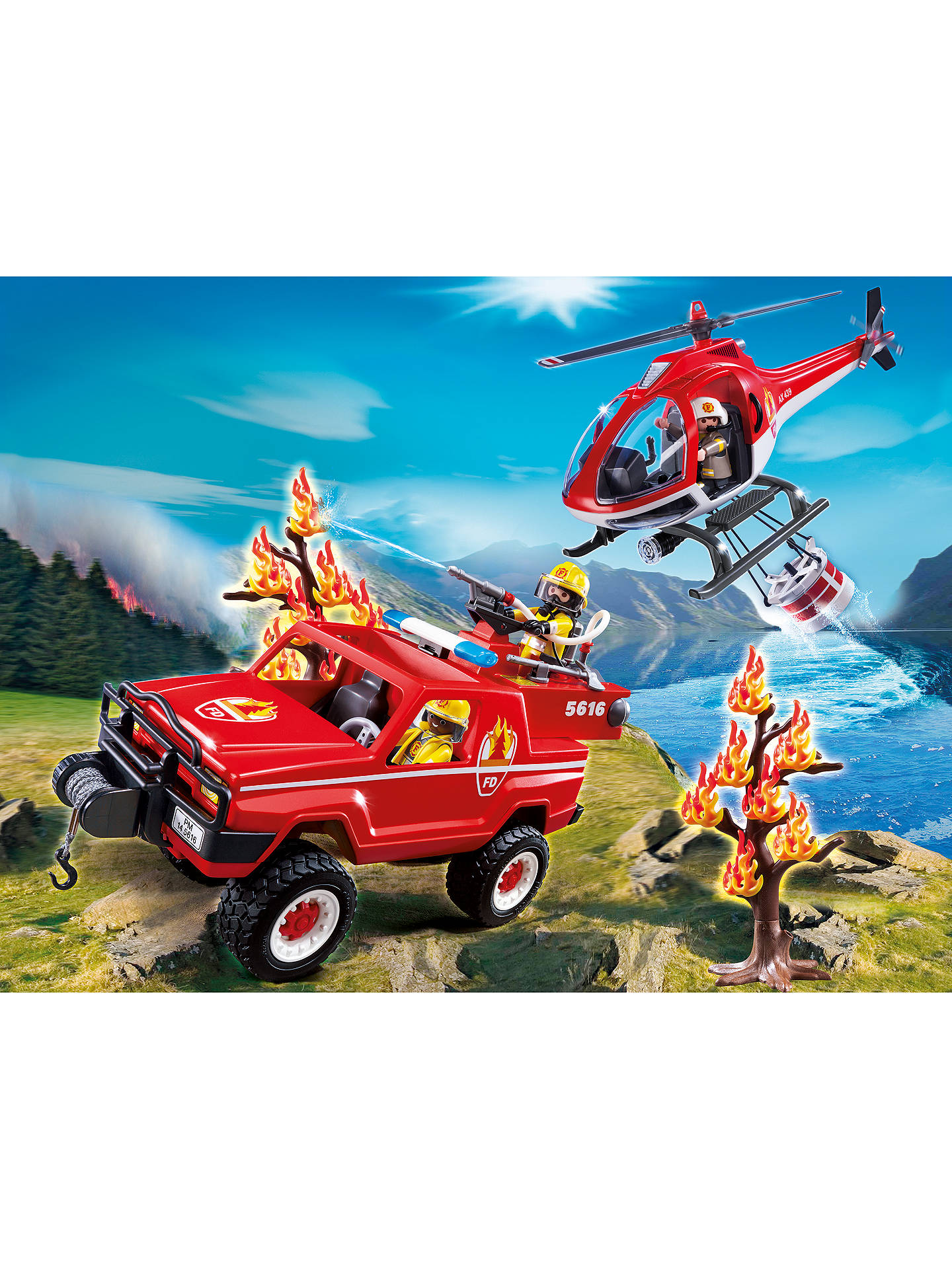 BuyPlaymobil City Action Forest Fire Club Set Online at johnlewis.com