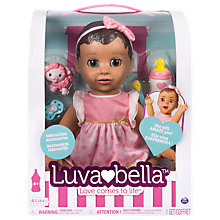 Buy Luvabella Baby Doll Brunette Online at johnlewis.com