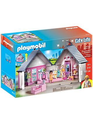 Playmobil City Life Take Along Fashion Store