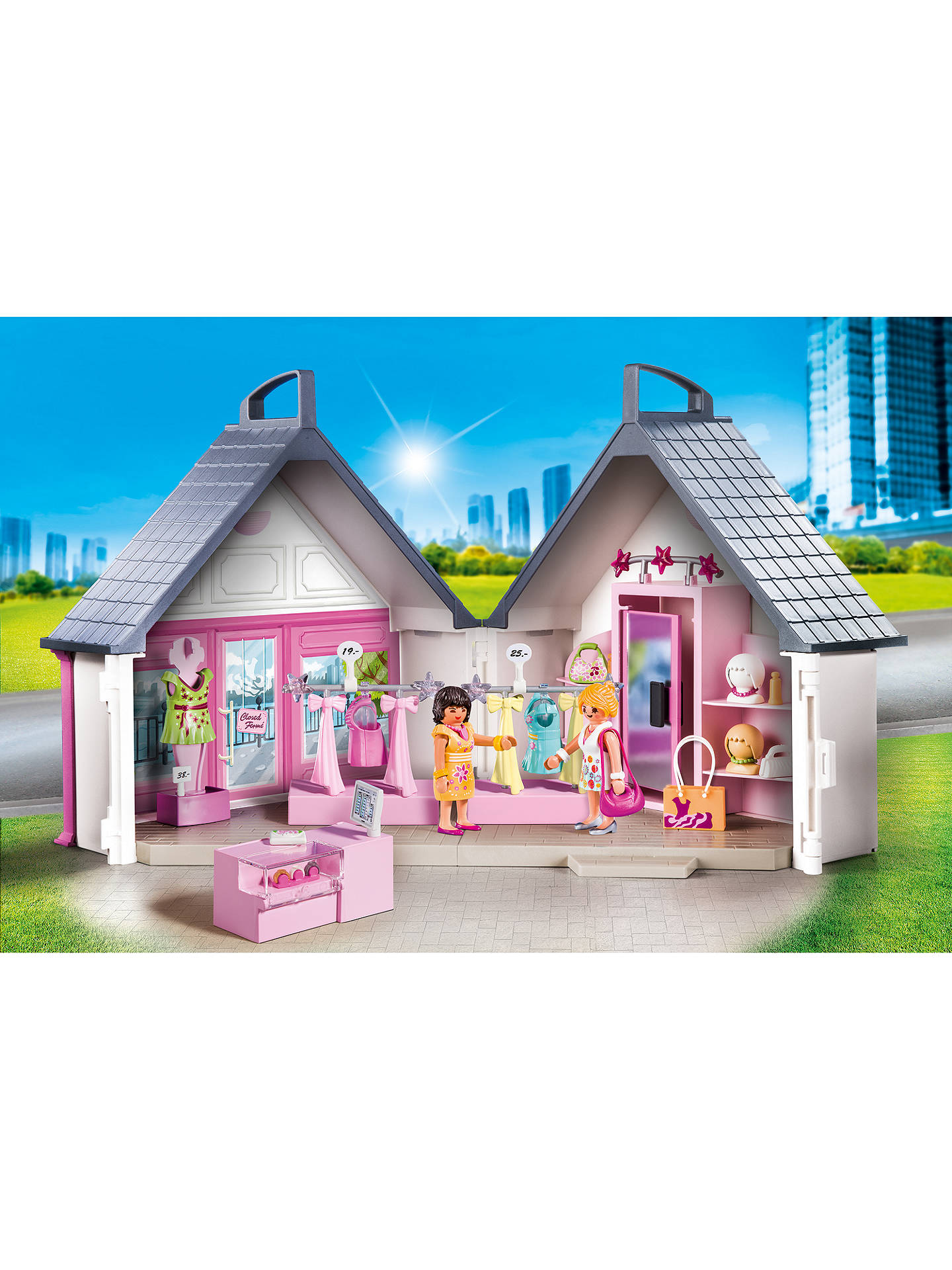 BuyPlaymobil City Life Take Along Fashion Store Online at johnlewis.com