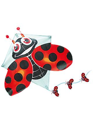 TKC Pop Up Ladybird Diamond Kite