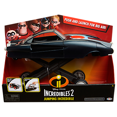 Disney Pixar The Incredibles 2 Jumping Incredible Car