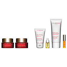 Buy Clarins Super Restorative Day Cream SPF20 and Night Cream with Gift Online at johnlewis.com