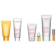 Buy Clarins SOS Comfort Nourishing Balm Mask and Hand and Nail Treatment Cream with Gift Online at johnlewis.com