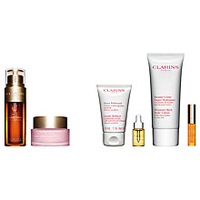 Buy Clarins Multi-Active Day Cream SPF 20 and Double Serum with Gift Online at johnlewis.com