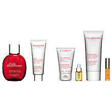 Buy Clarins Eau Dynamisante Spray and Hand and Nail Treatment Cream with Gift Online at johnlewis.com