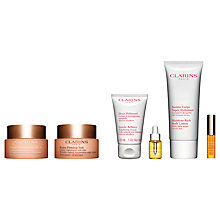 Buy Clarins Extra-Firming Day Cream SPF 15 and Extra-Firming Night Cream with Gift Online at johnlewis.com