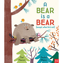 Buy A Bear is a Bear Children's Book Online at johnlewis.com