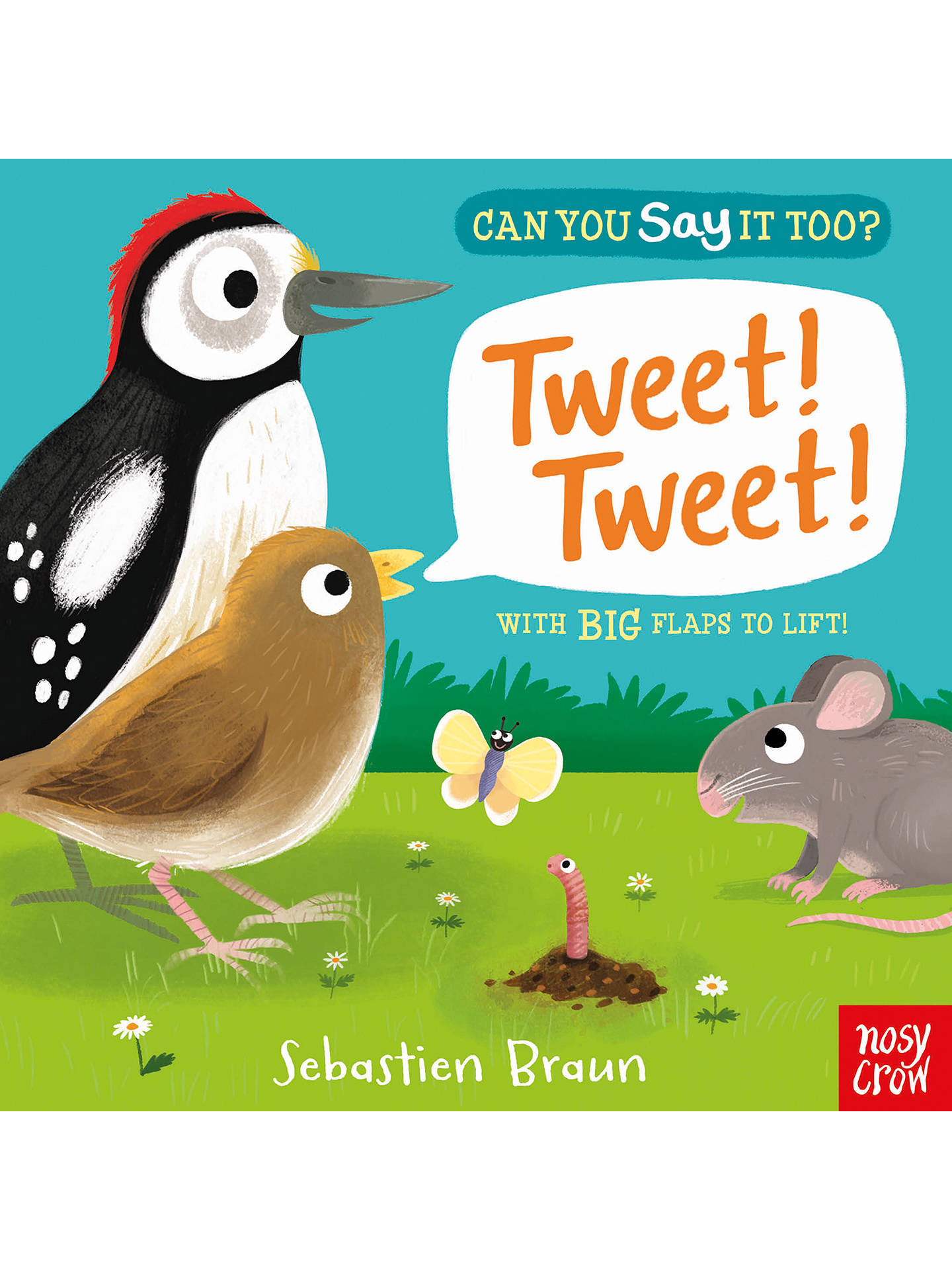 BuyCan You Say It Too? Tweet! Tweet! Children's Board Book Online at johnlewis.com