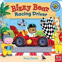 Buy Bizzy Bear Racing Driver Children's Board Book Online at johnlewis.com