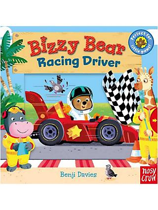 Bizzy Bear Racing Driver Children's Board Book