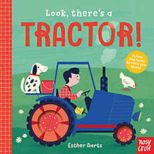 Buy Look There's a Tractor Children's Board Book Online at johnlewis.com