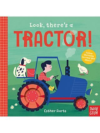 Look There's a Tractor Children's Board Book