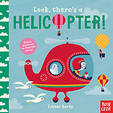 Buy Look There's a Helicopter Children's Board Book Online at johnlewis.com