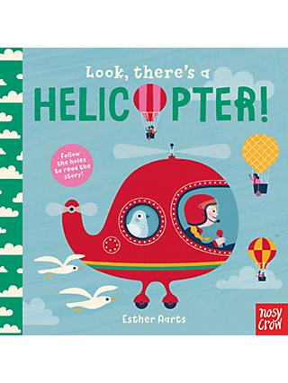 Look There's a Helicopter Children's Board Book