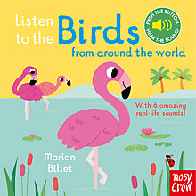 Buy Listen to the Birds From Around the World Children's Board Book Online at johnlewis.com