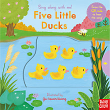Buy Sing Along With Me! Five Little Ducks Children's Board Book Online at johnlewis.com
