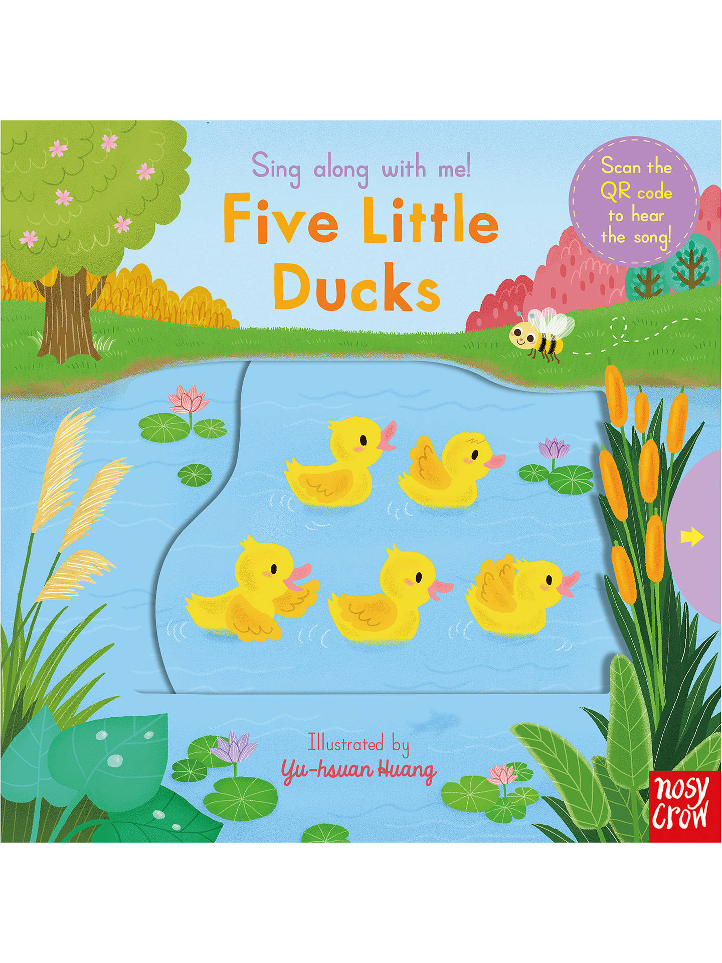 BuySing Along With Me! Five Little Ducks Children's Board Book Online at johnlewis.com