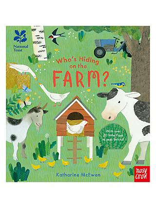 Who's Hiding on the Farm Children's Book