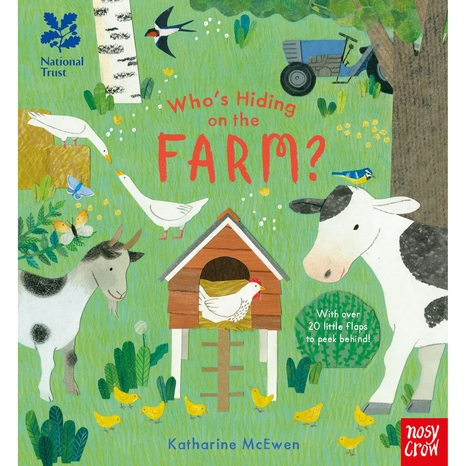 Nosy Crow Who's Hiding on the Farm Children's Book