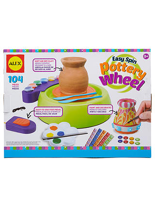 Buy ALEX Toys Artist Studio Easy Spin Pottery Wheel Online at johnlewis.com