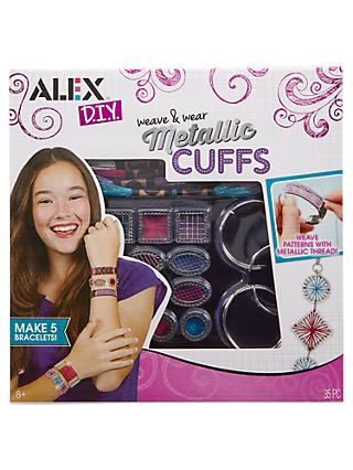 ALEX DIY Weave & Wear Metallic Cuffs