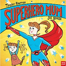 Buy Superhero Mum Children's Book Online at johnlewis.com