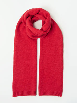 Buy John Lewis & Partners Cashmere Scarf, Coral Online at johnlewis.com