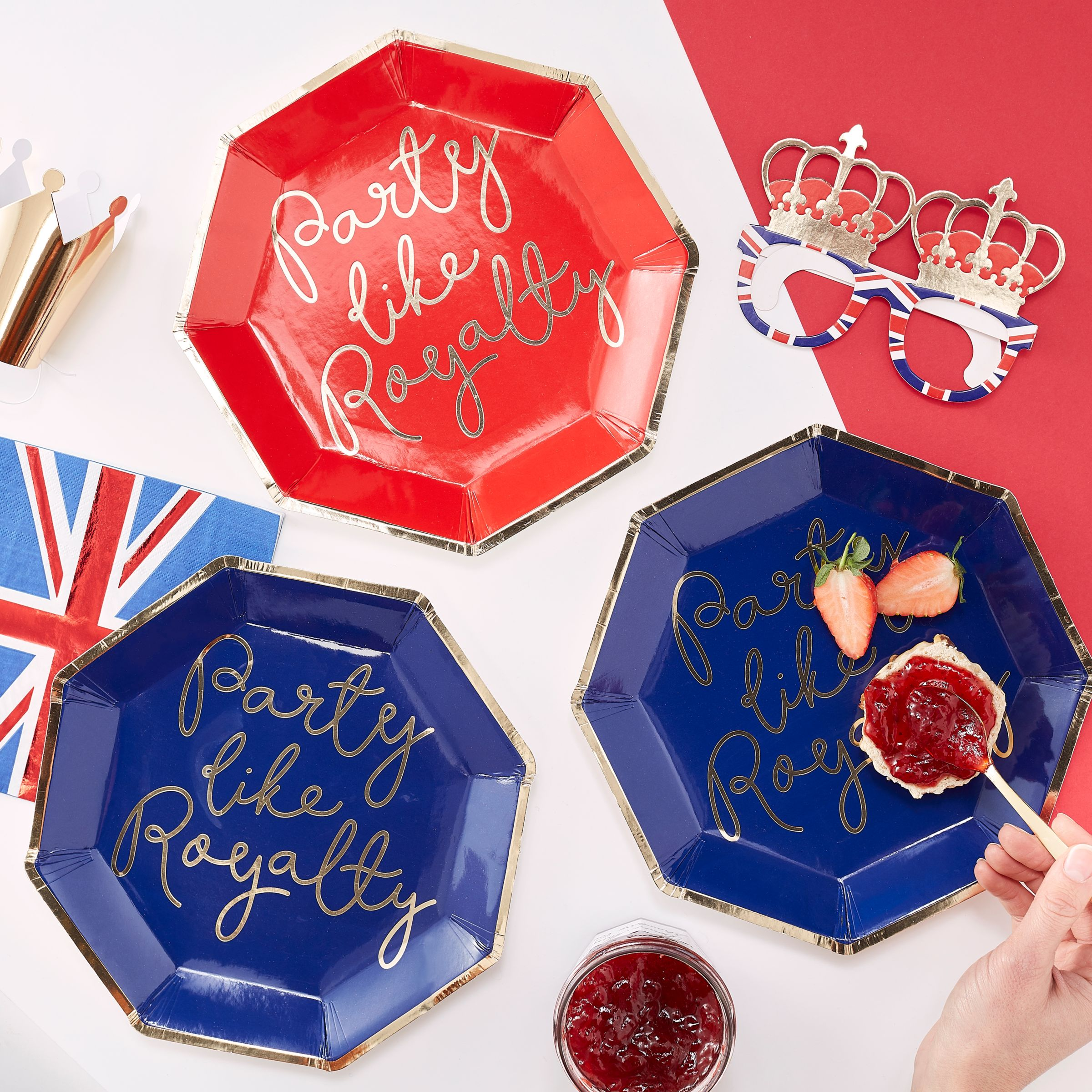 Royal Wedding Gifts and Partyware