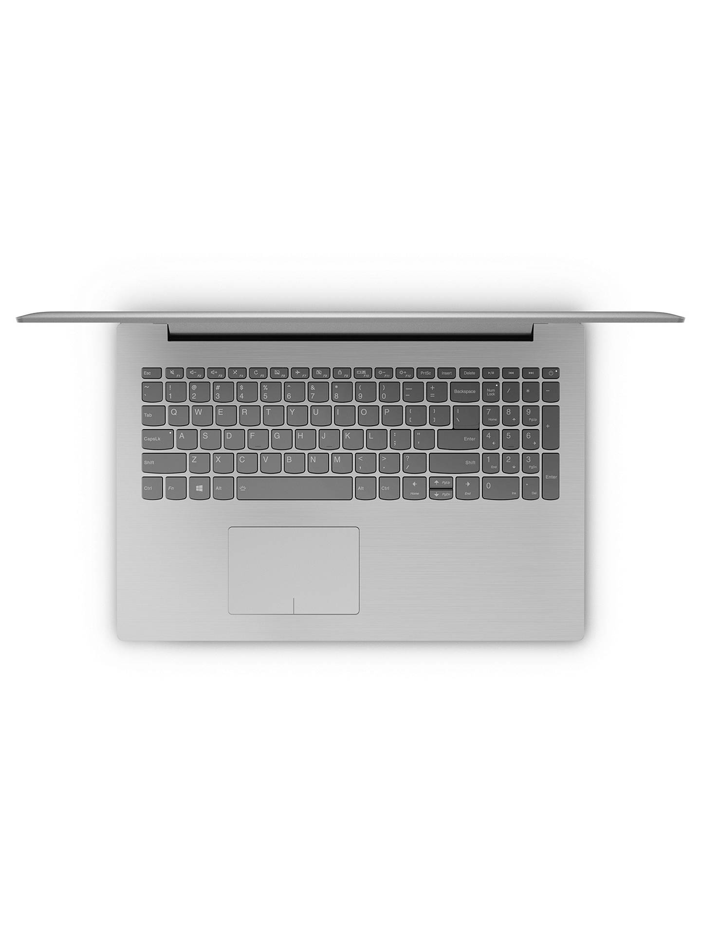 "BuyLenovo IdeaPad 320 Laptop, Intel Pentium, 4GB, 1TB, 15.6"", Platinum Grey Online at johnlewis.com"