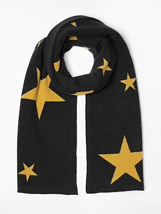 Collection Weekend By John Lewis Cashmere Star Print Travel Wrap