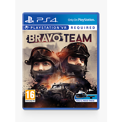 Image of Bravo Team PS VR Game for PS4