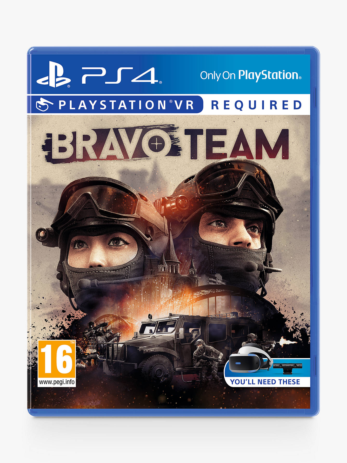 Buy Bravo Team PS VR Game for PS4 Online at johnlewis.com