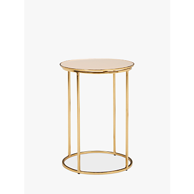 John Lewis & Partners Melena Small Side Table, Pink