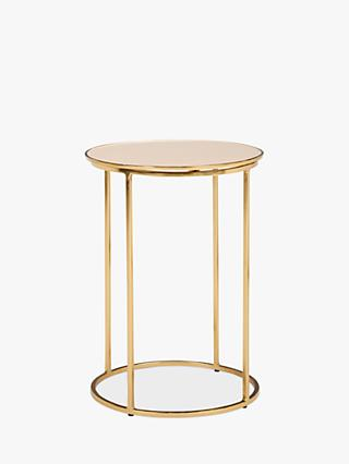 John Lewis Partners Melena Small Side Table Cream