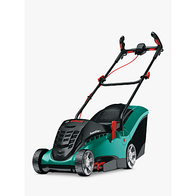 Image of Bosch Rotak 37 LI Ergoflex Cordless Hand-Propelled Electric Lawnmower