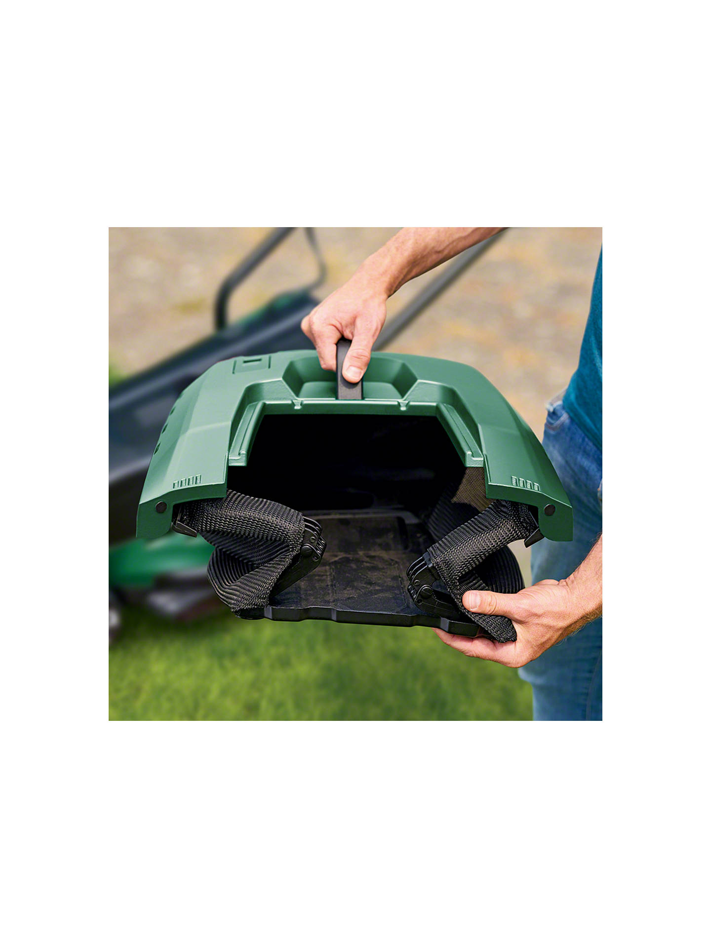 Buy Bosch UniversalRotak 550 Electric Lawnmower Online at johnlewis.com