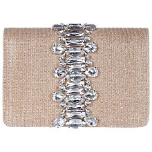 Buy Adrianna Papell Structured Clutch, Nude Online at johnlewis.com