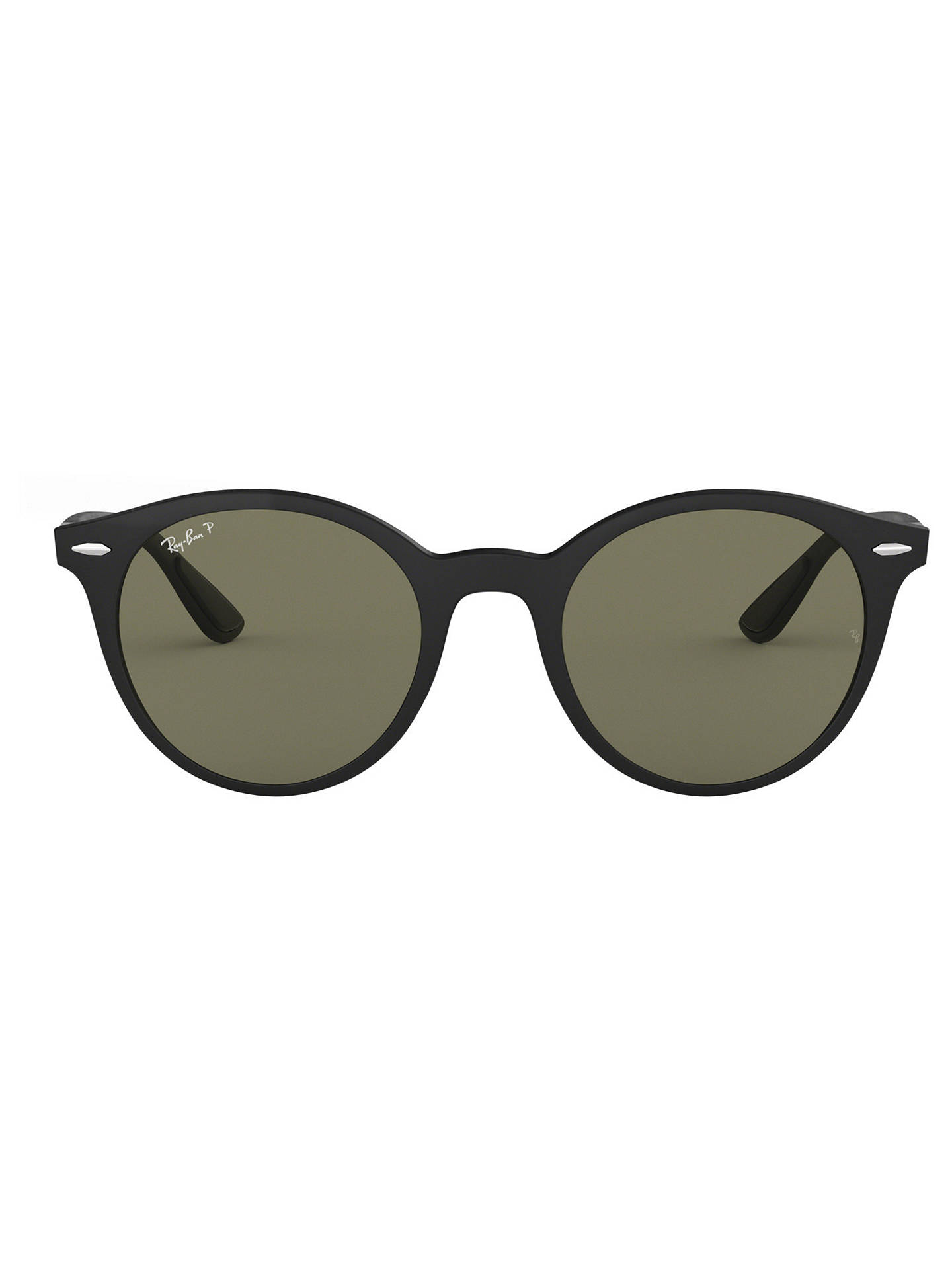 8b63dffb4e Ray-Ban RB4296 Unisex Polarised Oval Sunglasses at John Lewis   Partners