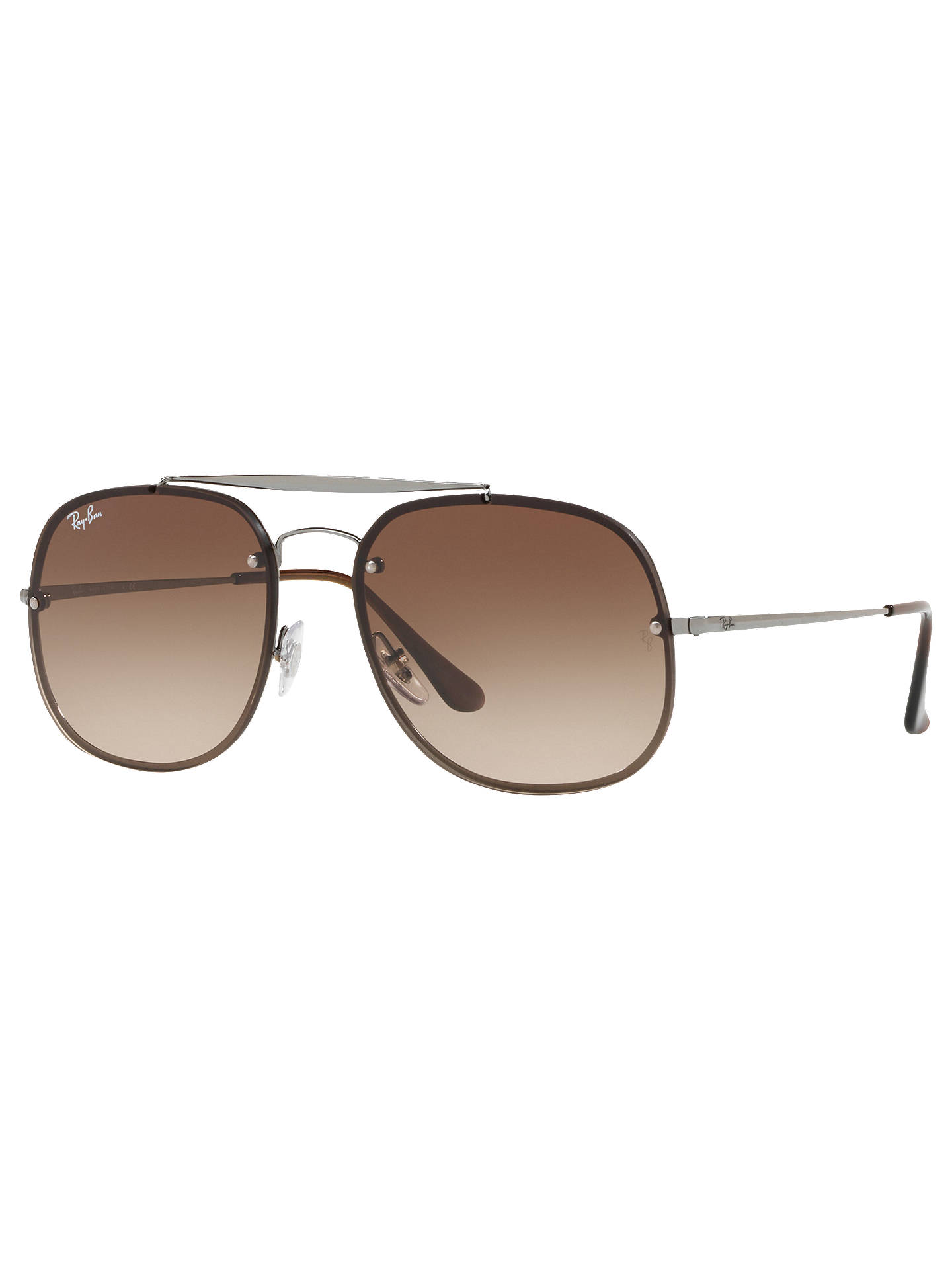 BuyRay-Ban RB3583N Unisex Blaze General Square Sunglasses, Silver Dark  Gradient Online at ... d87597150471