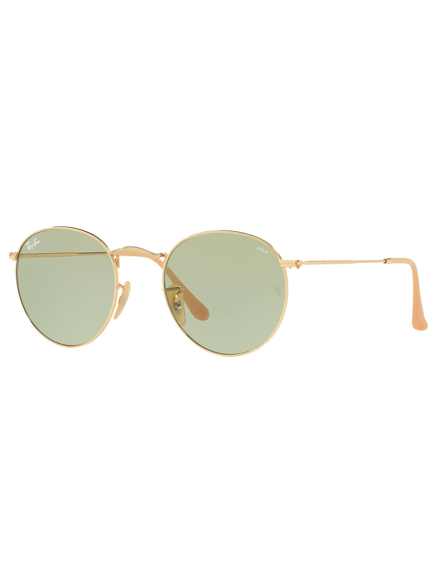 88eb4ff16c8 Ray-Ban RB3447 Round Flash Sunglasses at John Lewis   Partners