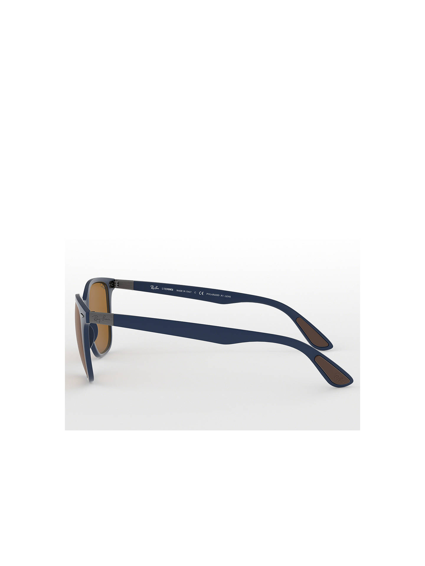 5b58f79a9f7 uk ray ban 3386 polarized fe218 d6e44  france buyray ban rb4297 wayfarer  polarised sunglasses blue brown online at johnlewis 588c3 b2e49