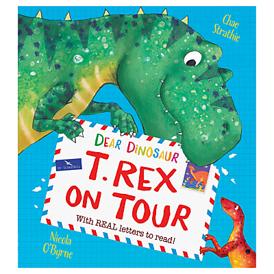 Image of Dear Dinosaur T-Rex on Tour Children's Book