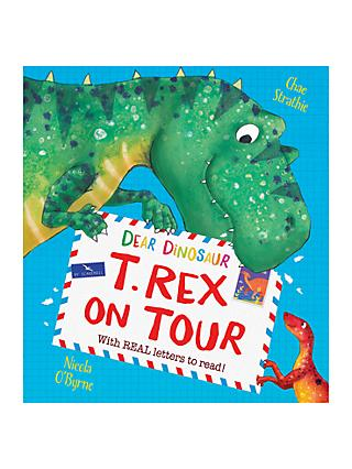 Dear Dinosaur T-Rex on Tour Children's Book